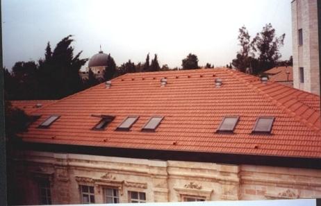 גג רעפים מכללת הדסה