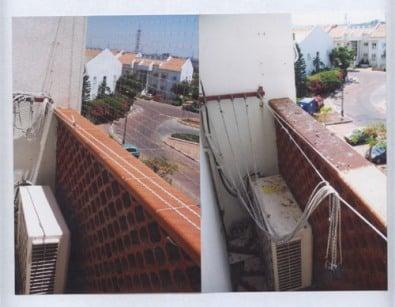 רשת יונים לפני ואחרי העבודה